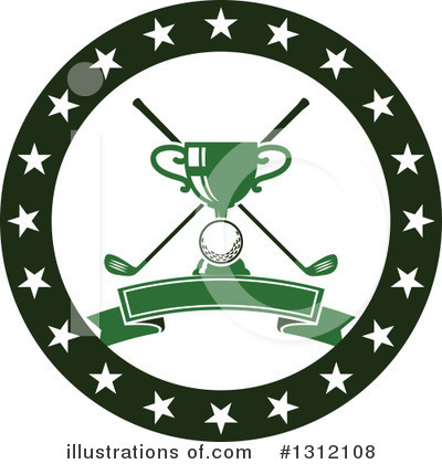 Golf Clipart #1312108 by Vector Tradition SM