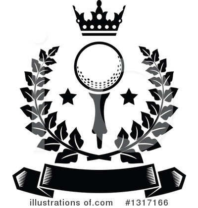 Golfing Clipart #1317166 by Vector Tradition SM