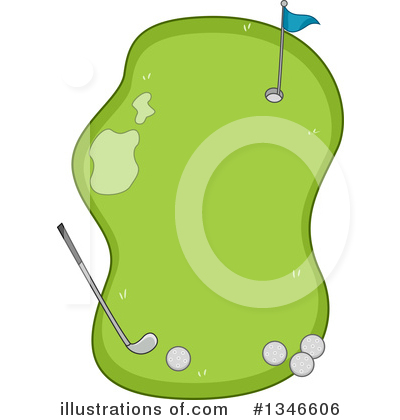 Golfing Clipart #1346606 by BNP Design Studio