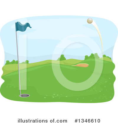 Golfing Clipart #1346610 by BNP Design Studio