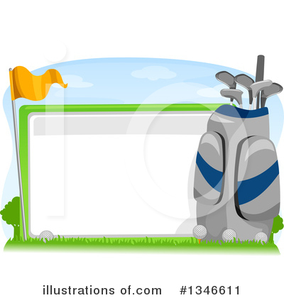 Golfing Clipart #1346611 by BNP Design Studio
