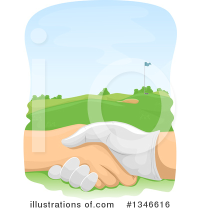 Golf Clipart #1346616 by BNP Design Studio