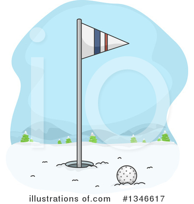 Golfing Clipart #1346617 by BNP Design Studio