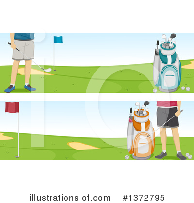 Golf Clipart #1372795 by BNP Design Studio