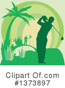 Golf Clipart #1373897 by Andy Nortnik