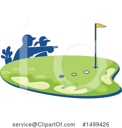 Golf Clipart #1499426 by patrimonio