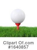 Golf Clipart #1640857 by Steve Young
