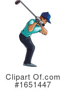 Golf Clipart #1651447 by Morphart Creations