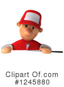 Golfer Clipart #1245880 by Julos