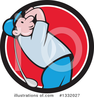 Golf Clipart #1332027 by patrimonio