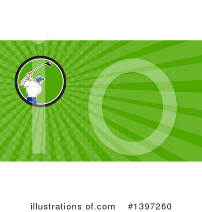 Golf Clipart #1397260 by patrimonio