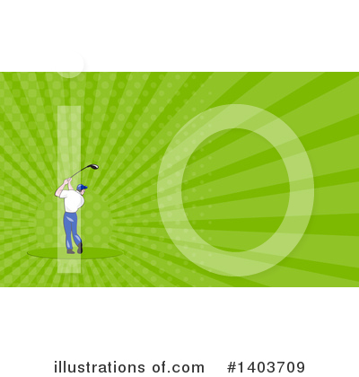Golf Clipart #1403709 by patrimonio
