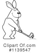 Golfing Clipart #1139547 by Cory Thoman