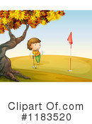 Golfing Clipart #1183520 by Graphics RF