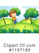 Golfing Clipart #1197189 by Graphics RF