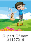 Golfing Clipart #1197219 by Graphics RF