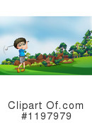 Golfing Clipart #1197979 by Graphics RF