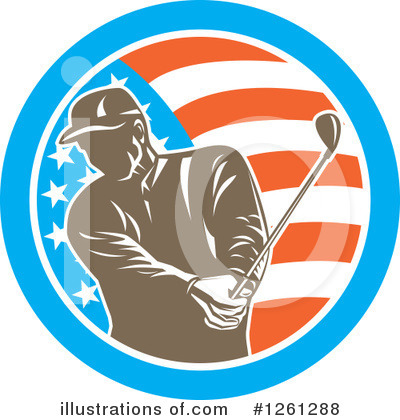 Golf Clipart #1261288 by patrimonio