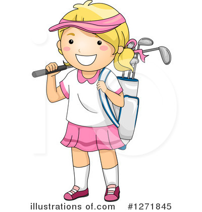 Golfing Clipart #1271845 by BNP Design Studio