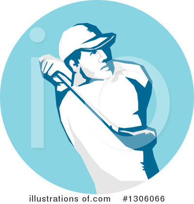 Golf Clipart #1306066 by patrimonio