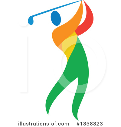 Golf Clipart #1358323 by patrimonio
