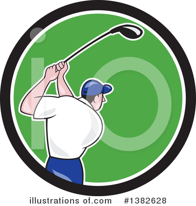 Golf Clipart #1382628 by patrimonio