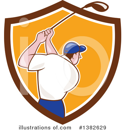 Golf Clipart #1382629 by patrimonio