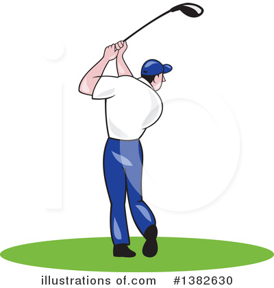 Golf Clipart #1382630 by patrimonio