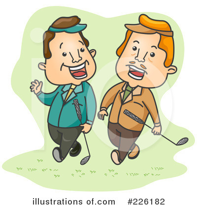 Golfing Clipart #226182 by BNP Design Studio