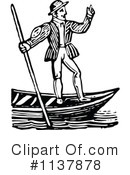 Royalty-Free (RF) gondolier Clipart Illustration #1137878