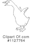 Royalty-Free (RF) Goose Clipart Illustration #1127764