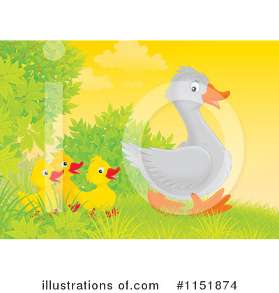 Goose Clipart #1151874 by Alex Bannykh