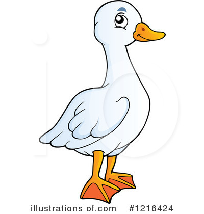 Duck Clipart #1216424 by visekart