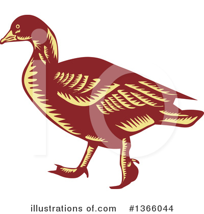 Duck Clipart #1366044 by patrimonio
