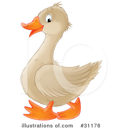 Goose Clipart #31176 by Alex Bannykh