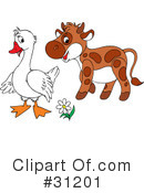 Goose Clipart #31201 by Alex Bannykh