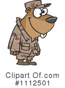 Royalty-Free (RF) Gopher Clipart Illustration #1112501
