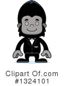 Gorilla Clipart #1324101 by Cory Thoman