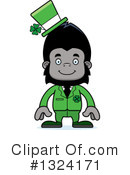 Gorilla Clipart #1324171 by Cory Thoman