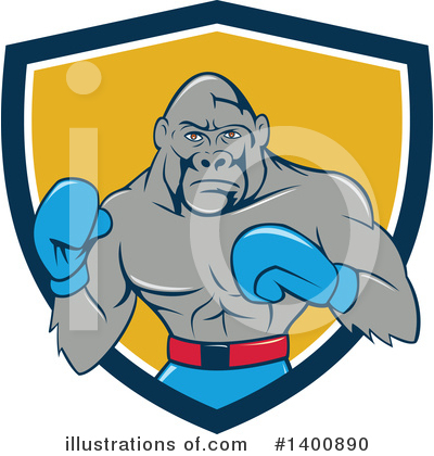 Boxing Clipart #1400890 by patrimonio