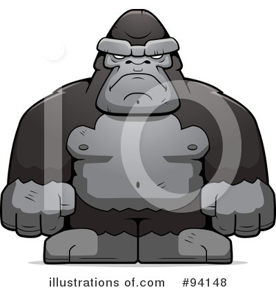 Ape Clipart #94148 by Cory Thoman