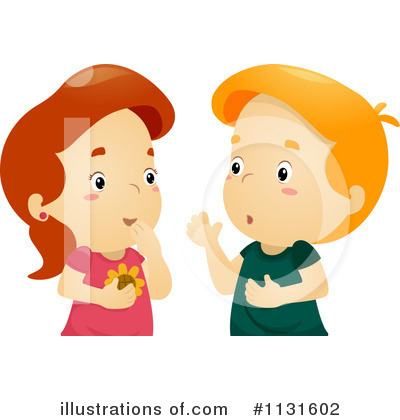 Royalty-Free (RF) Gossip Clipart Illustration by BNP Design Studio - Stock Sample #1131602