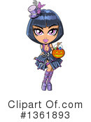 Royalty-Free (RF) Goth Clipart Illustration #1361893