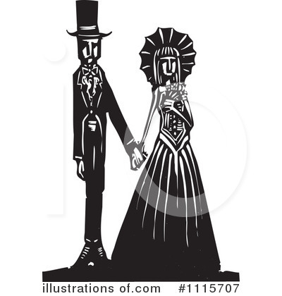 Royalty-Free (RF) Gothic Clipart Illustration by xunantunich - Stock Sample #1115707