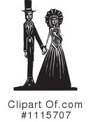 Royalty-Free (RF) gothic Clipart Illustration #1115707