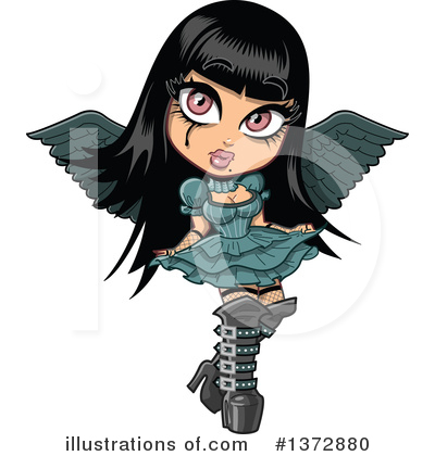 Royalty-Free (RF) Gothic Clipart Illustration by Clip Art Mascots - Stock Sample #1372880
