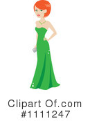 Gown Clipart #1111247 by Rosie Piter