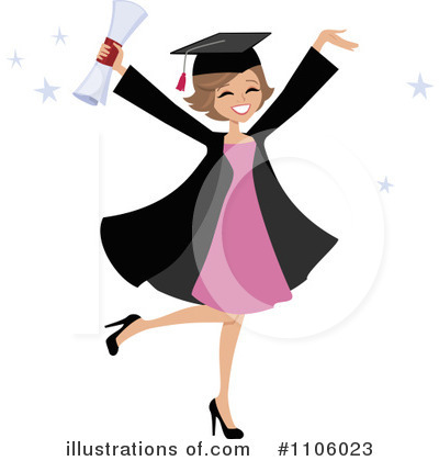 Graduate Clipart #1106023 by Monica