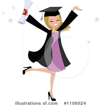 Graduate Clipart #1106024 by Monica