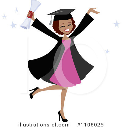 Graduation Clipart #1106025 by Monica